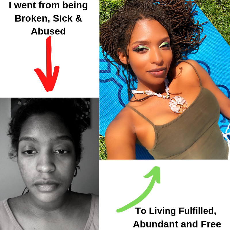 I WENT FROM BEING BROKEN, SICK & ABUSED