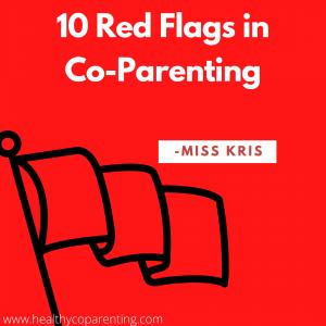 TEN RED FLAGS